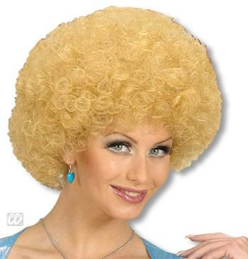 Filigree Afro Wig Blond