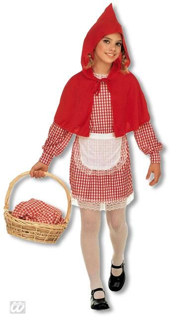 Little Red Riding Hood Kids Costume M