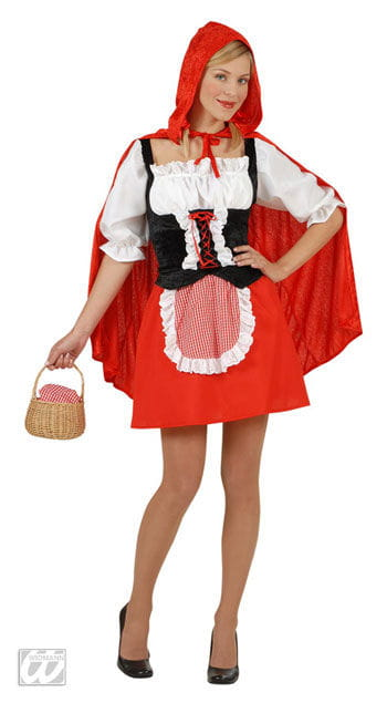 Naughty Little Red Riding Hood Costume