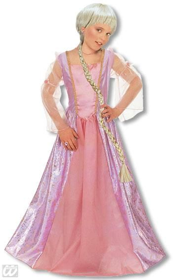 Rapunzel Princess Kids Costume M