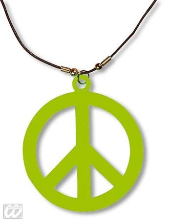 Plastic Hippie chain green