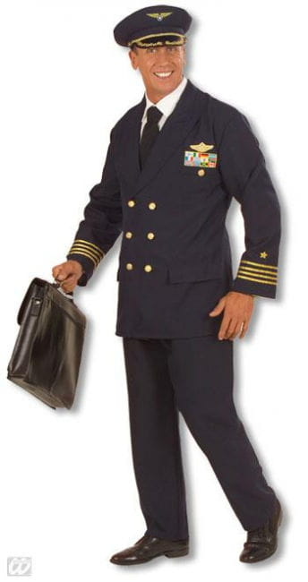 Pilots Uniform Costume. M
