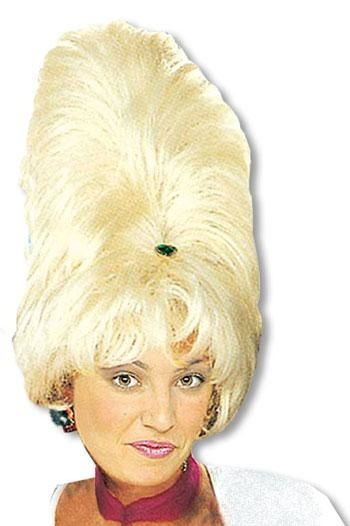 Sixties Beehive Wig Blond