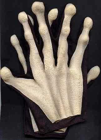 Alien Handschuhe