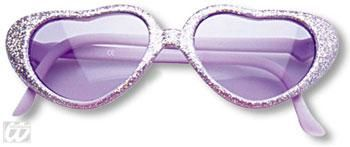Girl Heart Sunglasses Purple