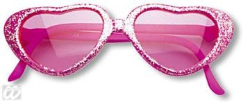 Girls Heart Sunglasses Pink