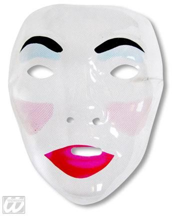 Female Mask with Pout