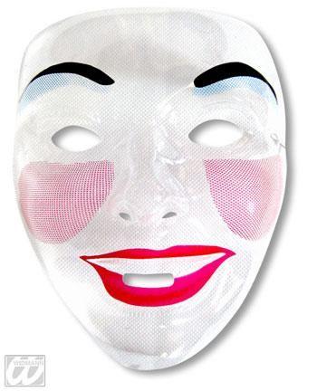 Frauen Gesichtsmaske Lachender Mund