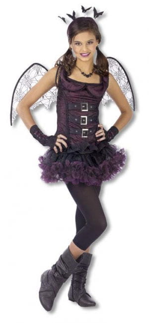 Spider Bat Costume Teen Violet