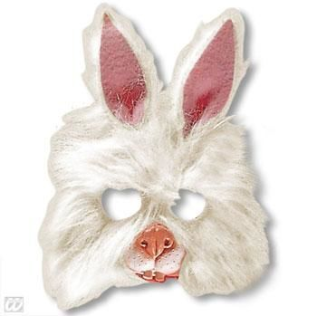 Kids Mask Bunny with Plush