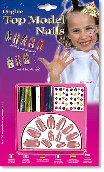 Kids Design Fingernails Dusky Pink