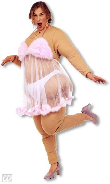 Babsy Fat Strip Club Beauty Costume