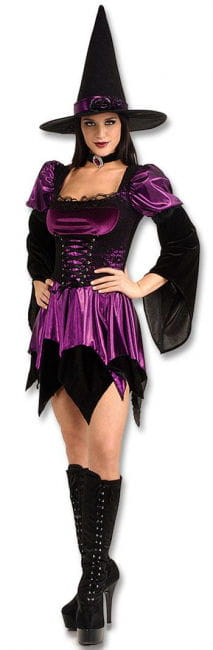 Sexy Precious Witch Costume S