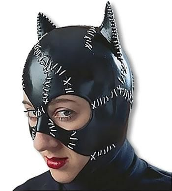 Catwoman Latex Mask
