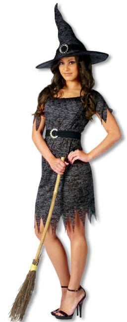 Borken Witch Costume SM