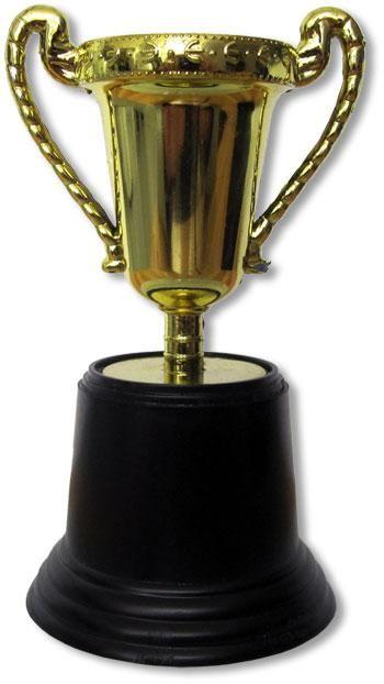 Miniatur Gold Pokal