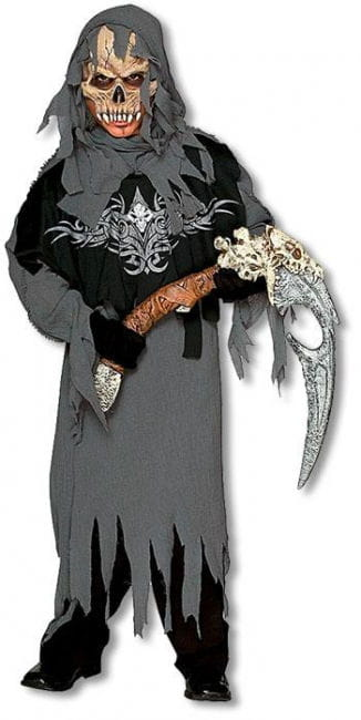 Grim Reaper Child Costume L