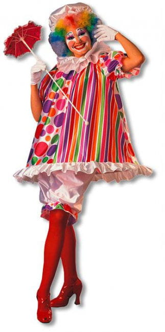 Betty Brite Clown Costume