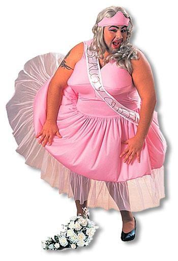 Fette Schönheitskönigin Kostüm
