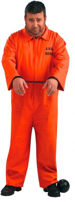 US Convict Costume XL