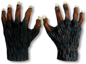 Werewolf Hands Latex Deluxe