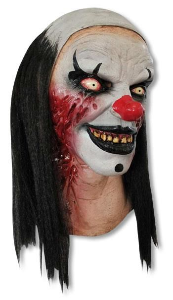 Pierrot Zombie Clown Maske