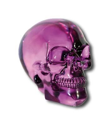Crystal Skull Purple