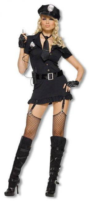 Dirty Cop Costume Small Medium