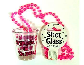 Bachelorette Shot Glass on a Chain