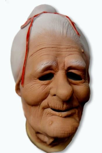 Granny Latex Mask