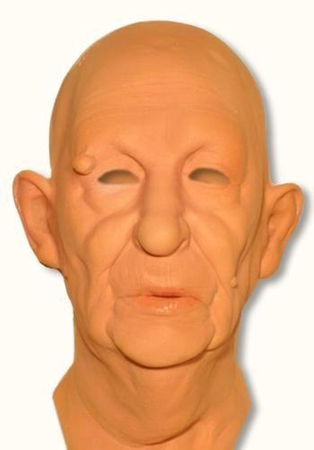 Metzgermeister Maske aus Schaumlatex
