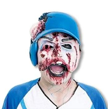 Baseball Player Half Mask