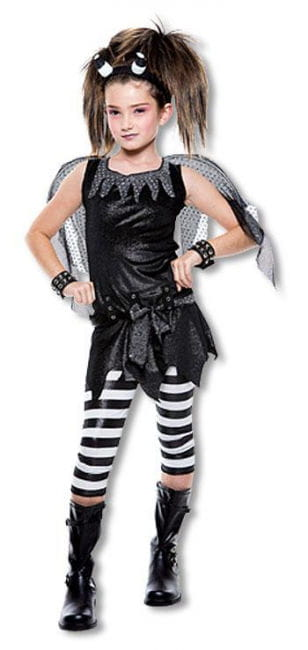 Gothic Fairy Child Costume L