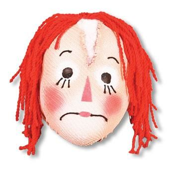 Rag Doll Puppet Mask