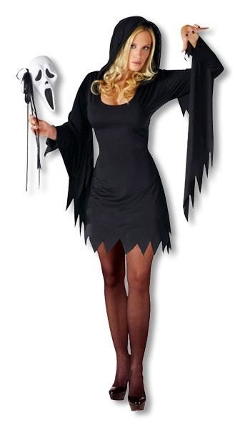 Scream Woman Costume ML