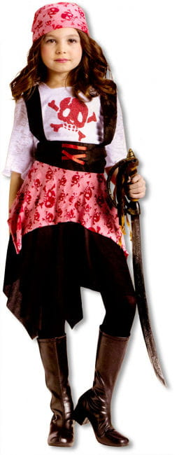 Skull Pirate Child Costume. L