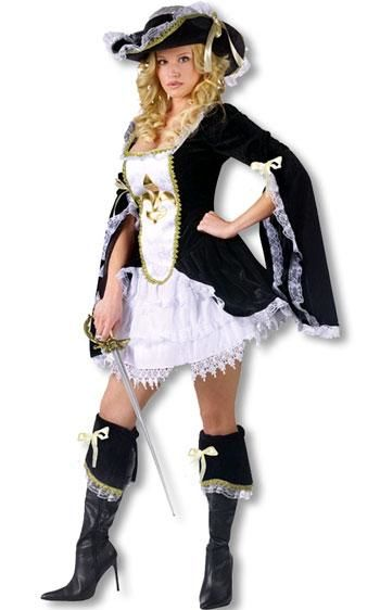 Sexy Musketeer Costume ML
