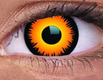 Kontaktlinsen Orange Werwolf