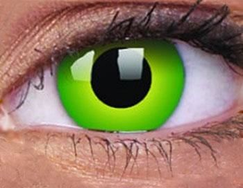 Contact Lenses Hulk Green