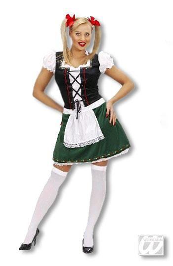 Sexy Oktoberfest Girl Costume L