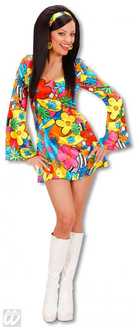 Flowerpower Girl costume Small