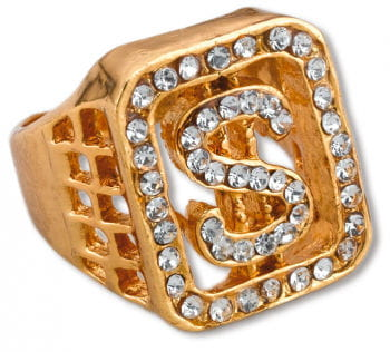 Dollar Ring Gold