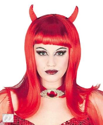 Sexy Teufelin Perücke