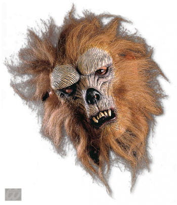 Lurking werewolf half mask