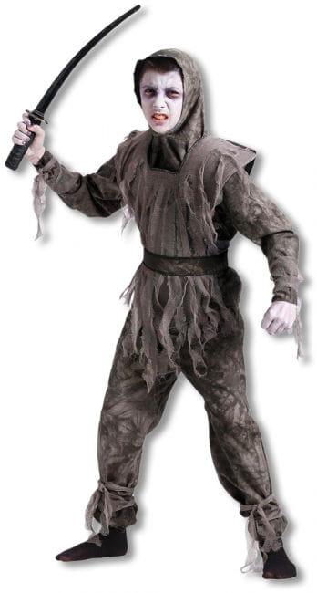 Zombie Ninja Child Costume L