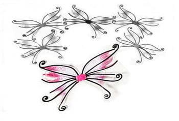 Fairy Wings Pink
