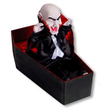 Dracula Coffin Animatronic