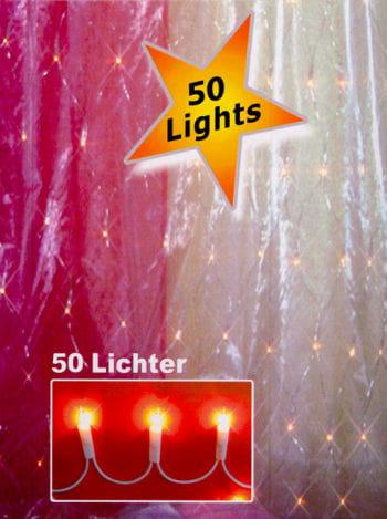 Lichterkette 50 Lichter Innenraum
