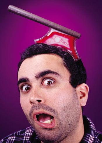 Bloody Axe Headpiece