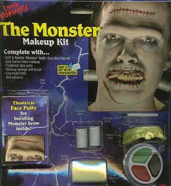 Complete Make Up Kit Monster